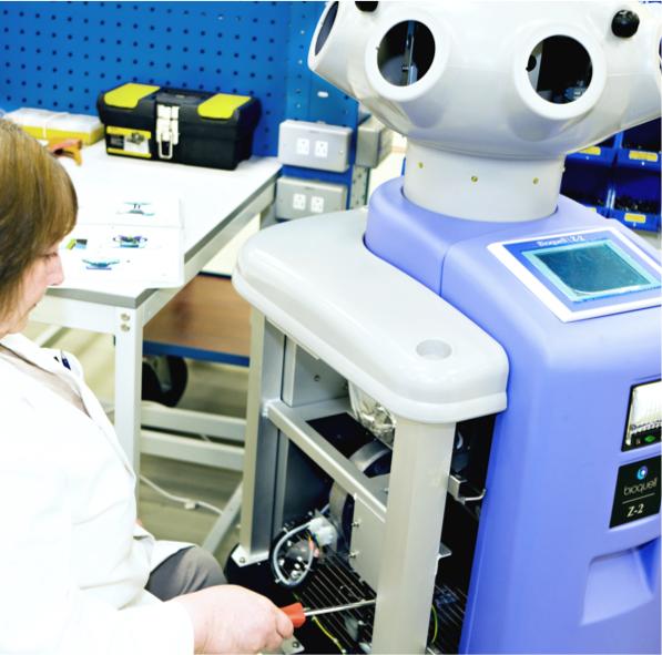 Bioquell Bio Decontamination Equipment Manufacturing